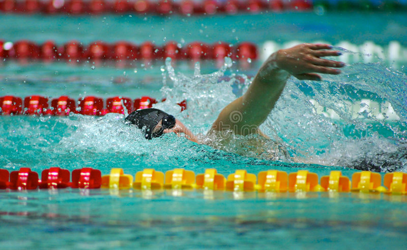 Download Swimmer stock image. Image of sports, action, summer, timer - 2102165