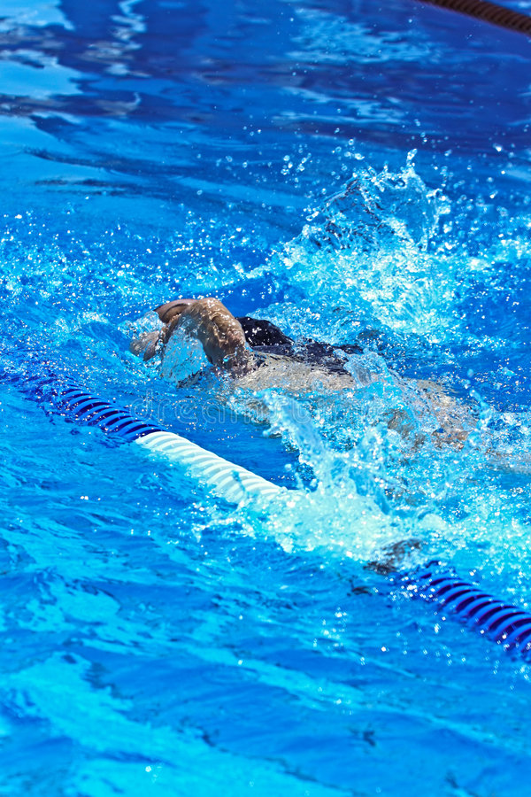 Free Swimmer Royalty Free Stock Images - 2951279