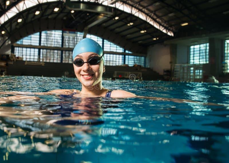 swimmer foto de stock