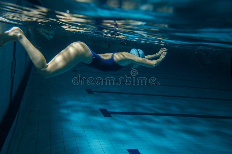 swimmer fotografia de stock