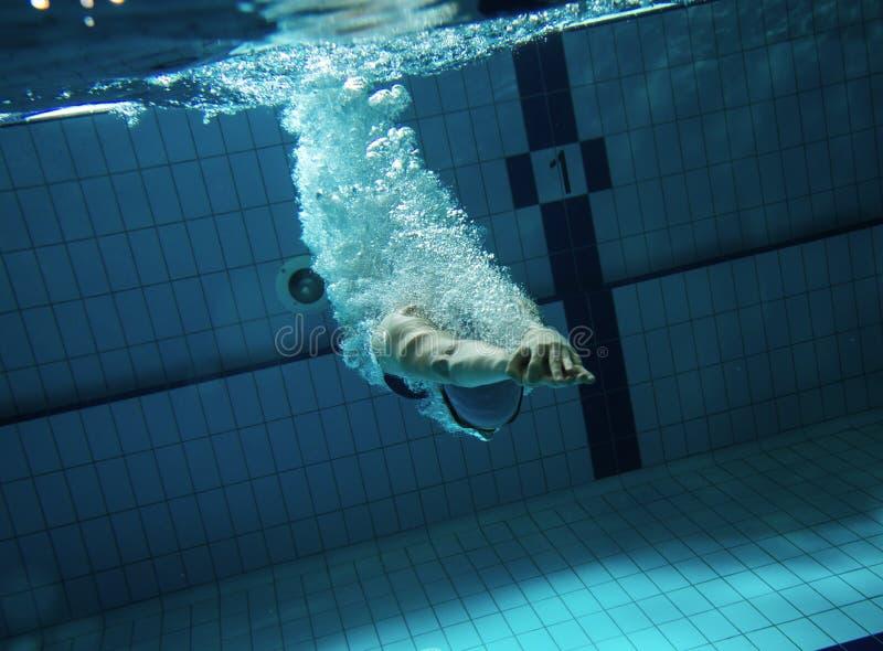 swimmer fotos de stock