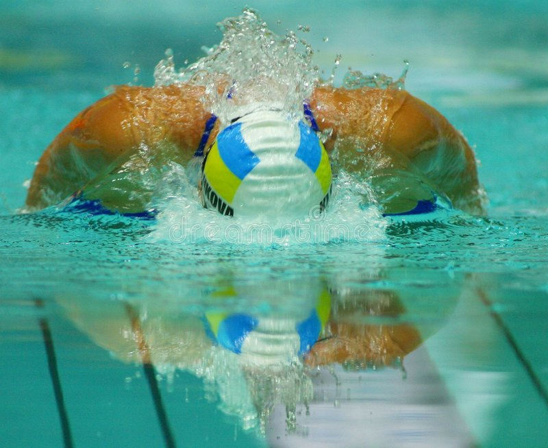Download Swimmer stock image. Image of sports, speed, meet, motion - 935787