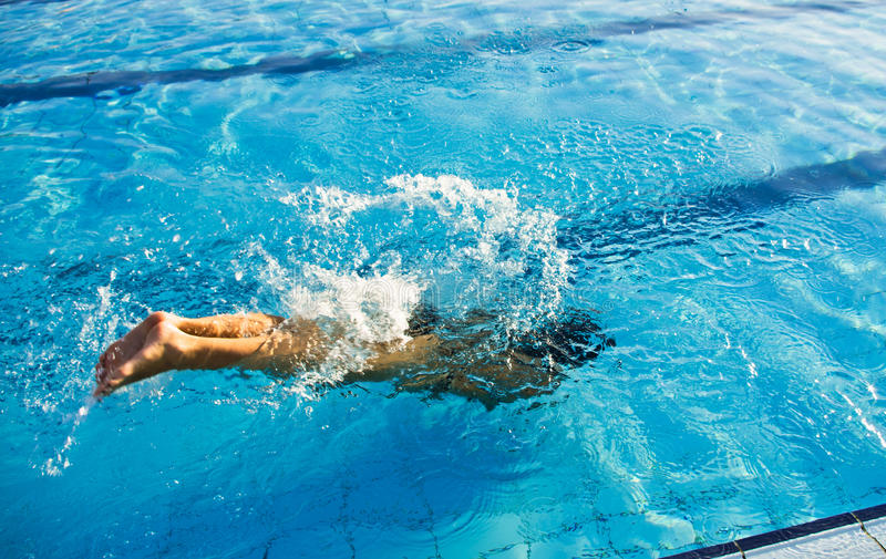 Download Swimmer dive stock image. Image of relaxation, splash - 20715271