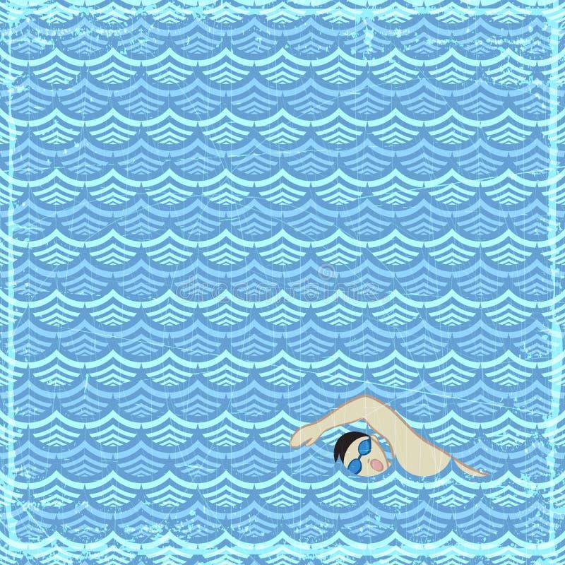 Download Swimming stock vector. Illustration of illustration, clipart - 26160308