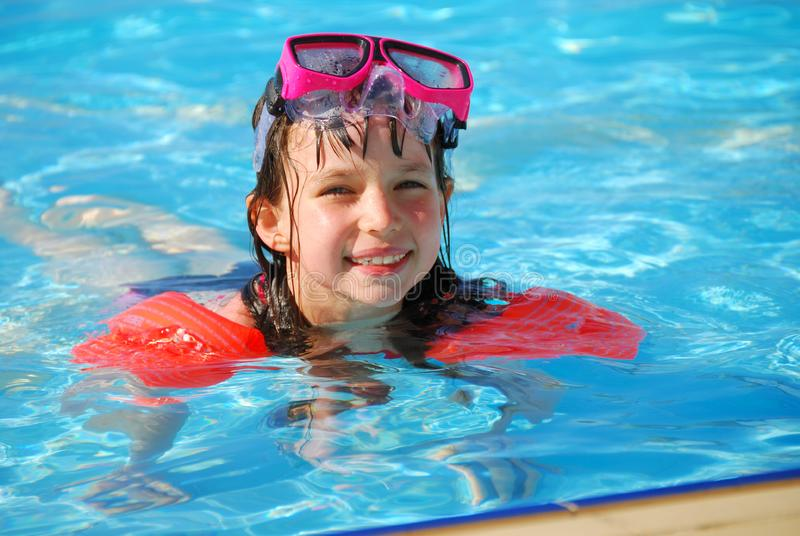 Swimming stock photography