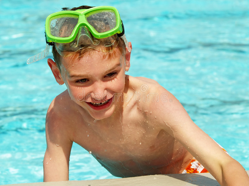 Download Swimming Boy Royalty Free Stock Images - Image: 2580579