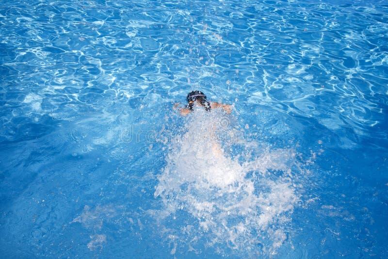 Swimming child