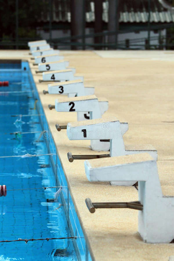 Download Swimming competition stock image. Image of reflection - 20402425
