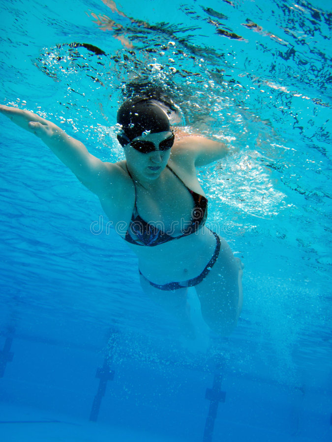 Download Swimming Girl Stock Photo - Image: 5168720