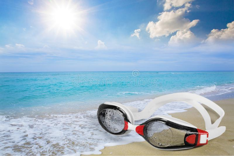 Swimming Goggles stock photography