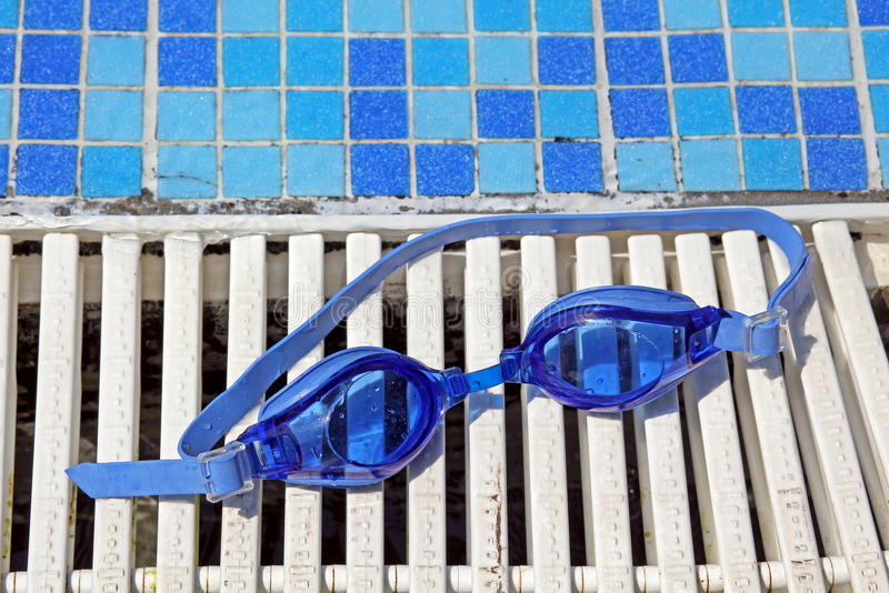 Swimming goggles royalty free stock photography