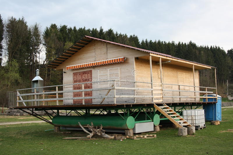 Download Swimming House During The Dry Season Stock Image - Image: 19330479