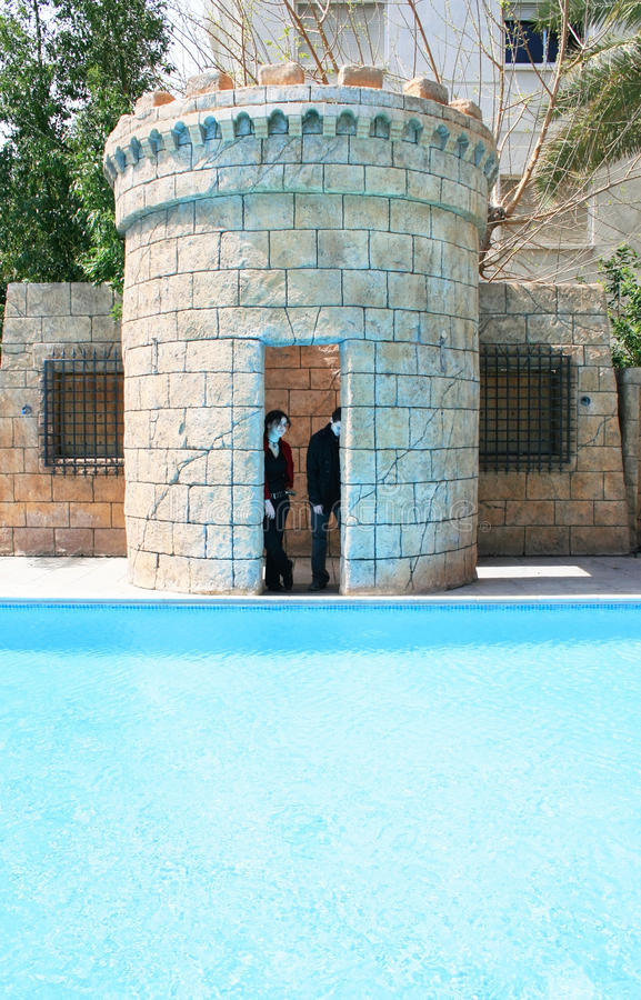 Swimming Pool Stock Image Image Of Castle Teenager