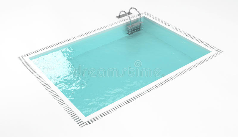 Swimming pool vector illustration