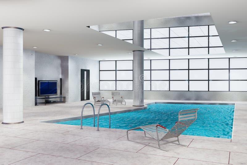 Swimming pool stock illustration