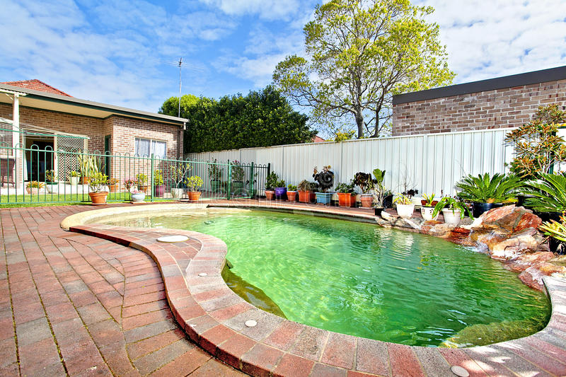 Download Swimming pool stock image. Image of paradise, home, bright - 21570965