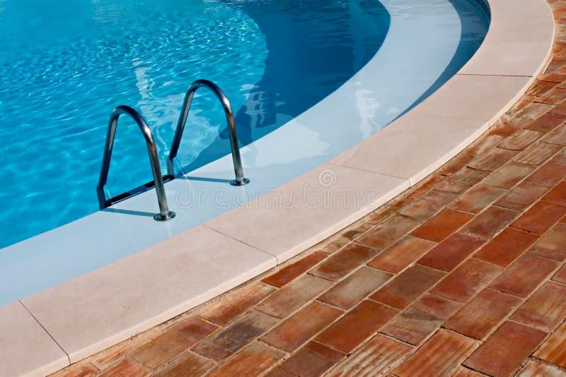Download Swimming Pool stock photo. Image of handrails, cyan, cobblestone - 2319008