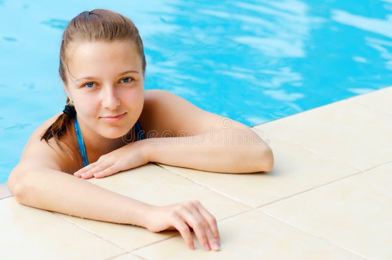 Download Swimming pool stock photo. Image of pleasure, caucasian - 23559816