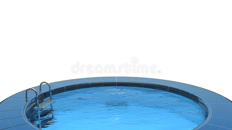 Download Swimming pool stock illustration. Image of bath, architecture - 27027755