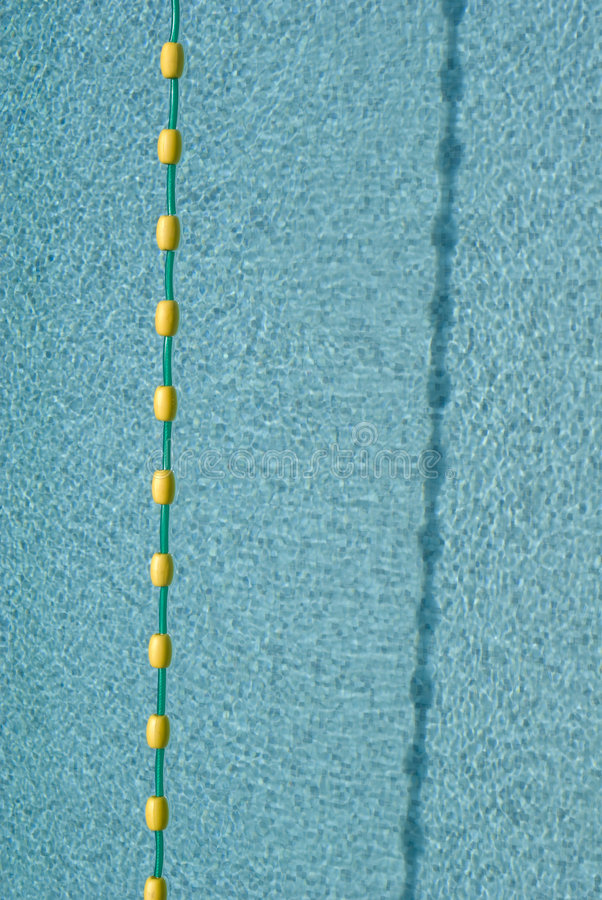 Lane Marker Buoys And Swimming Pool Stock Image Image Of