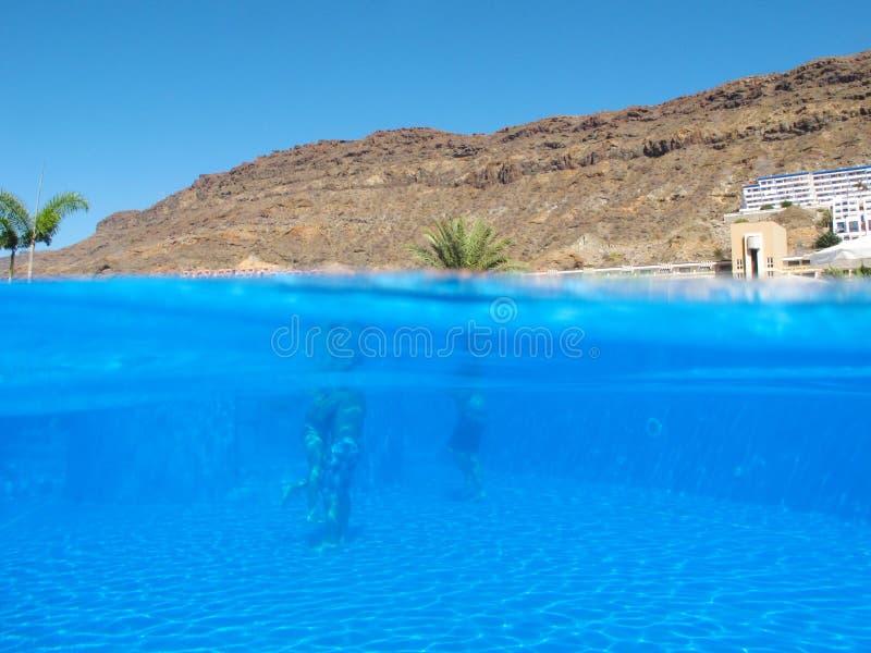 Download Swimming-pool stock photo. Image of exercise, splash - 28108882