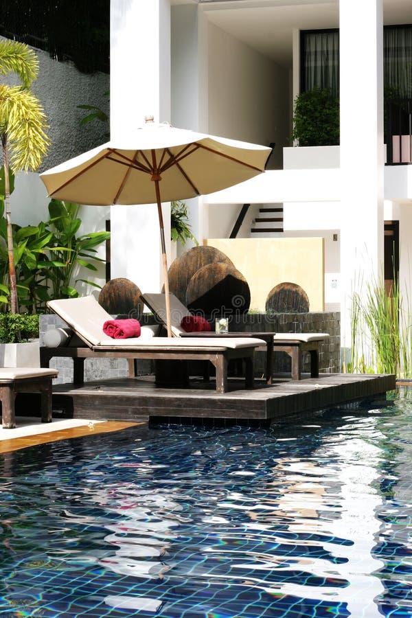 Swimming pool. royalty free stock photo