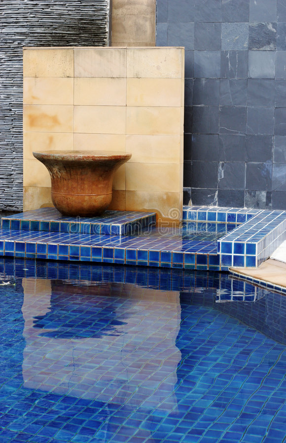 Download Swimming pool stock photo. Image of gorgeous, home, designer - 4648826