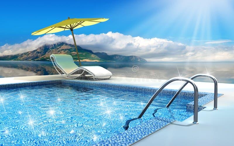 Download Swimming pool stock photo. Image of resort, holiday, heat - 4879330