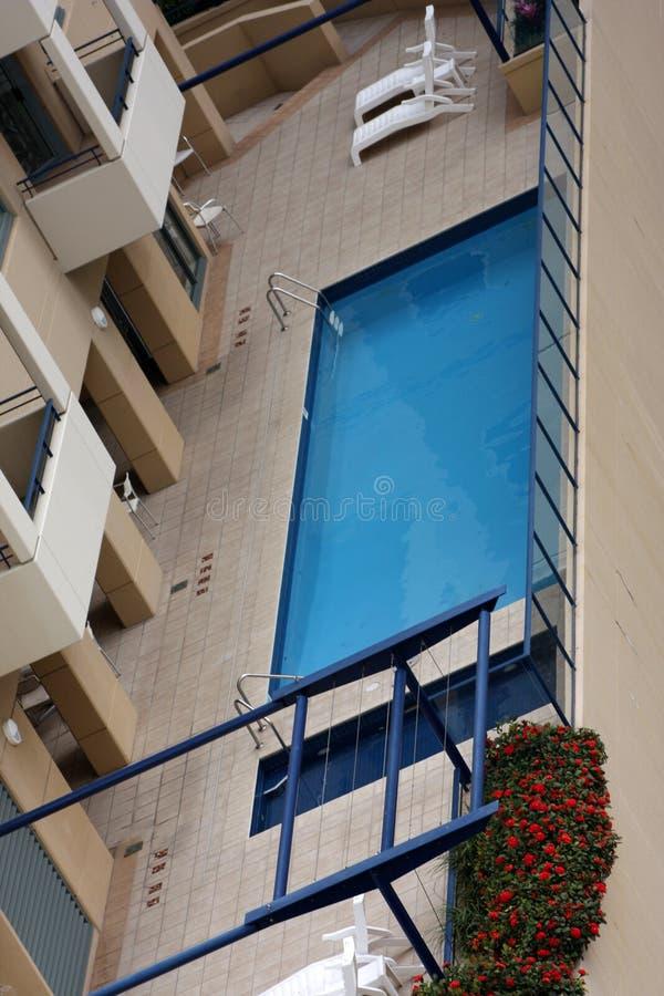 Download Swimming pool stock image. Image of window, shrub, empty - 5380941