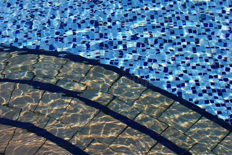 Swimming-pool fotografia de stock
