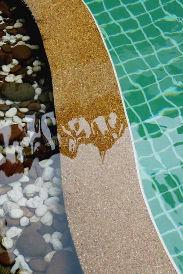 Download Swimming pool stock image. Image of trendy, decor, clear - 6074081