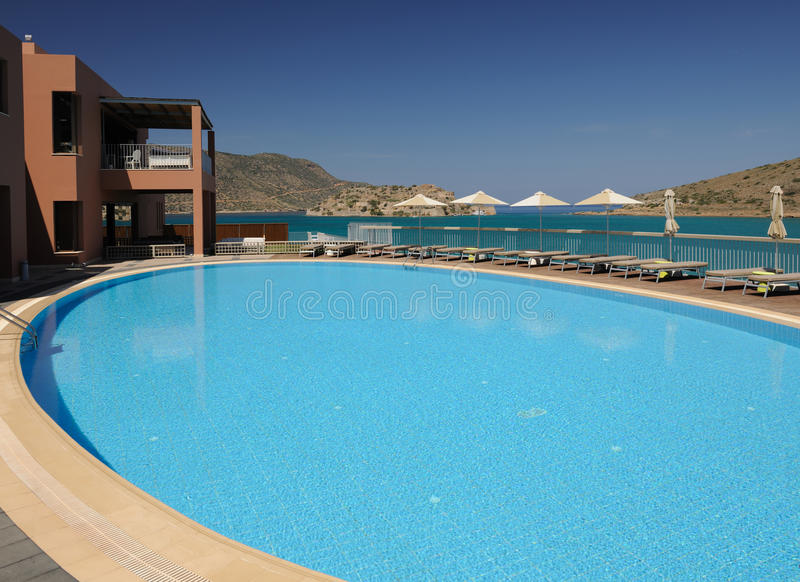 Download Swimming pool area stock image. Image of relaxation, paradise - 14500285
