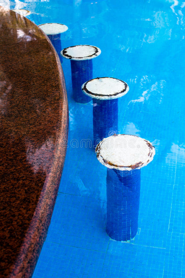 Download Swimming Pool Bar Seats stock image. Image of empty, resort - 33150257