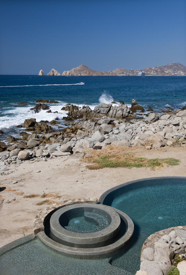 Download Swimming Pool On Beach Stock Images - Image: 10987654