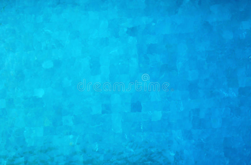Swimming pool blue background stock photos