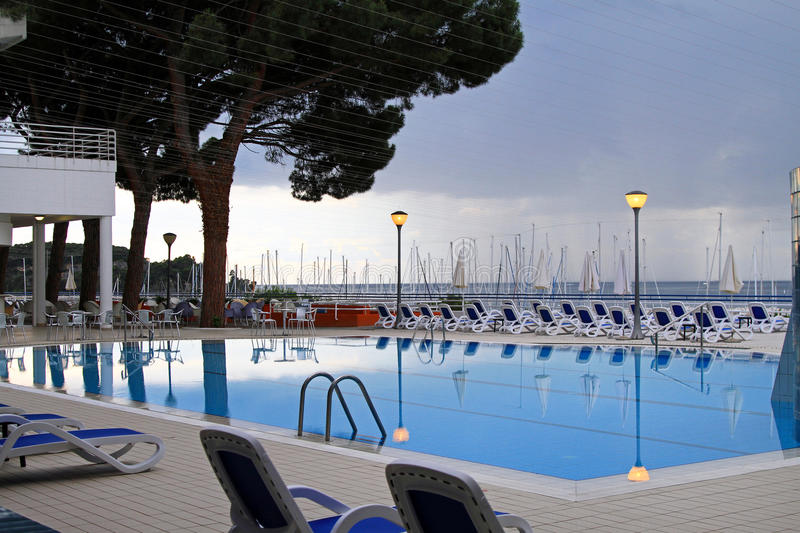 Download Swimming pool calm stock photo. Image of architecture - 21376556