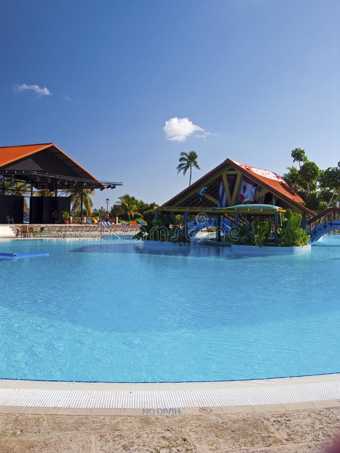 Download Swimming Pool In Cuba Royalty Free Stock Photos - Image: 12491208