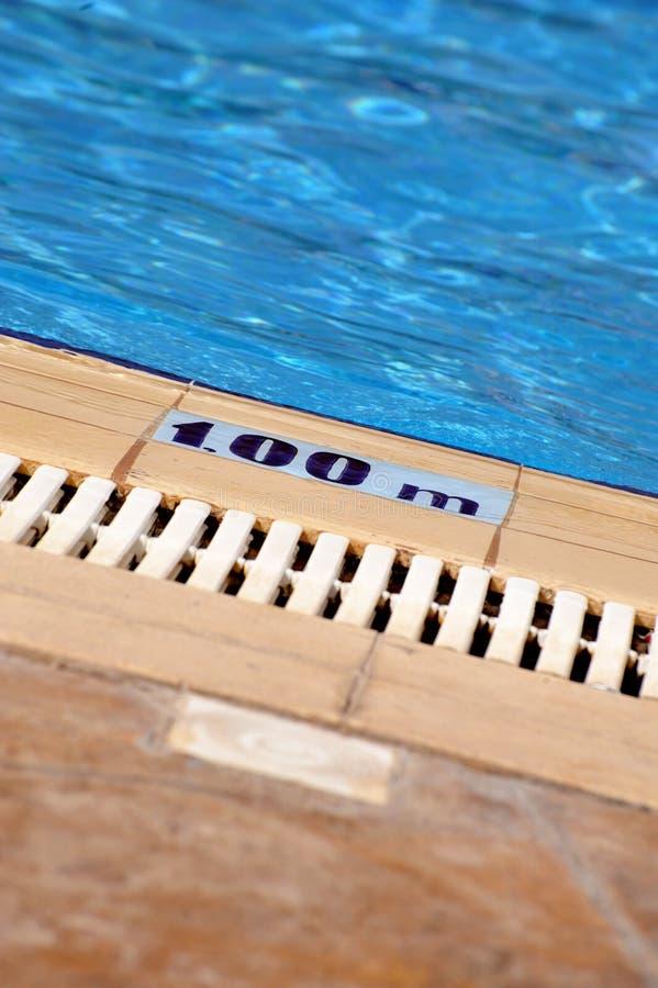 Download Swimming pool depth sign stock image. Image of pool, writing - 6554833