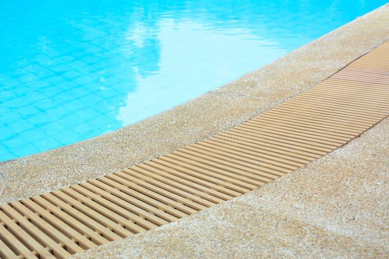 swimming pool edge with drain stock photo image 49728057