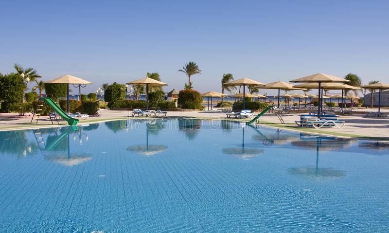 Download Swimming Pool. Egypt. Royalty Free Stock Image - Image: 12881476