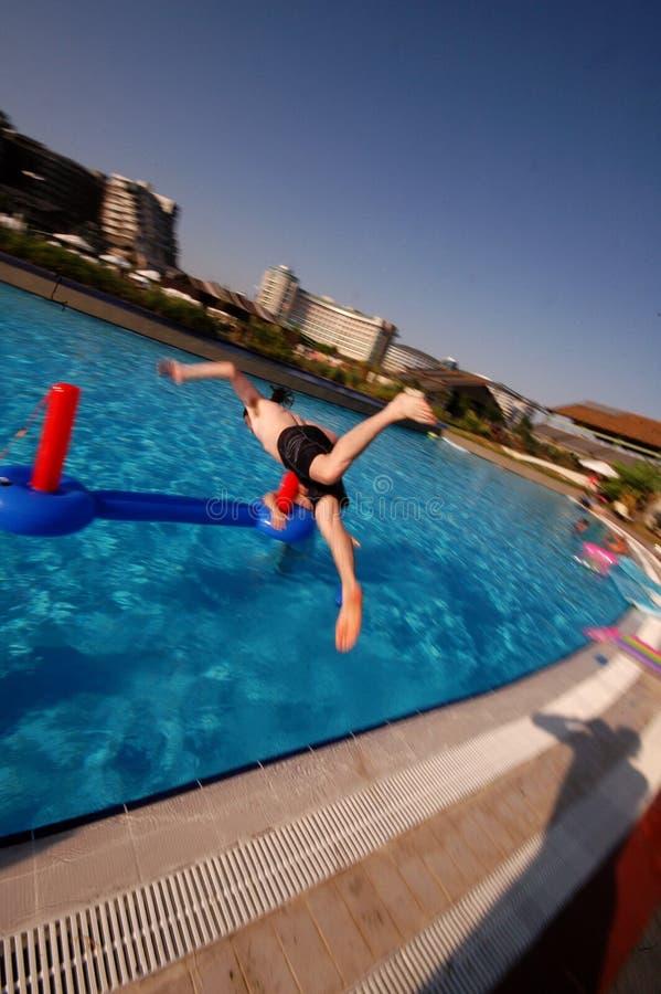 Download Swimming pool fun stock image. Image of swimmer, enjoy - 1247799