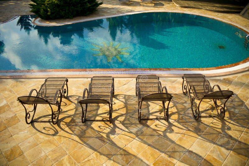 Swimming Pool, Furniture, Sunlounger, Outdoor Furniture Free Public Domain  Cc0 Image