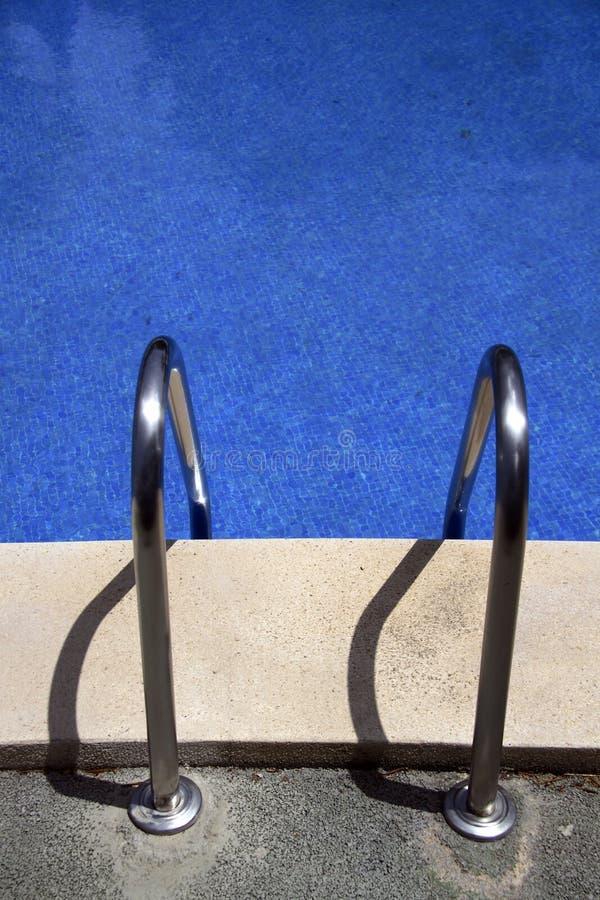 Download Swimming pool ladder stock image. Image of pool, ladder - 2546527