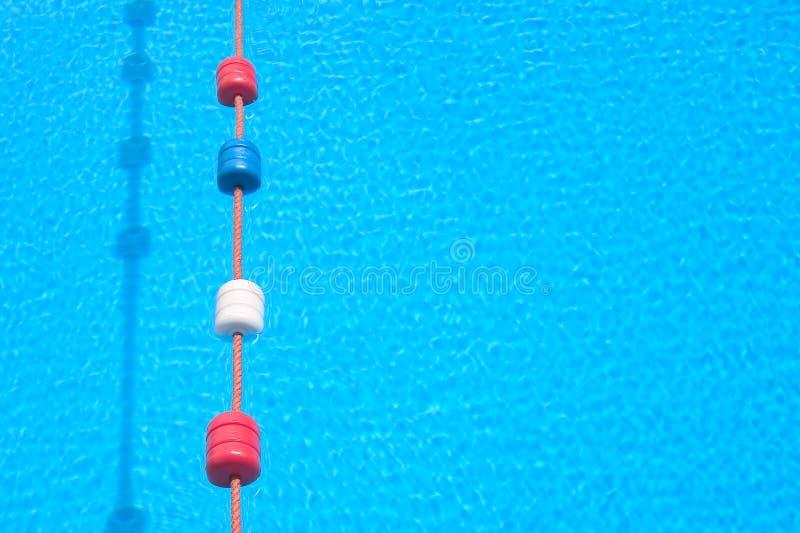 Swimming pool lane stock photo
