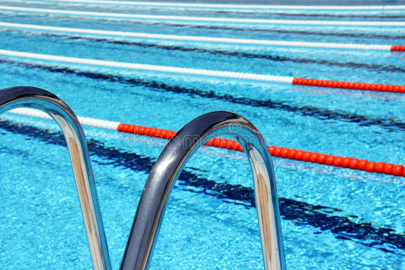 download swimming pool lane ropes and ladder stock image image 55207481 - Olympic Swimming Pool Lanes