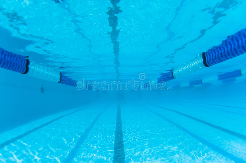 Swimming Pool Lane Underwater Stock Image Image 26459941
