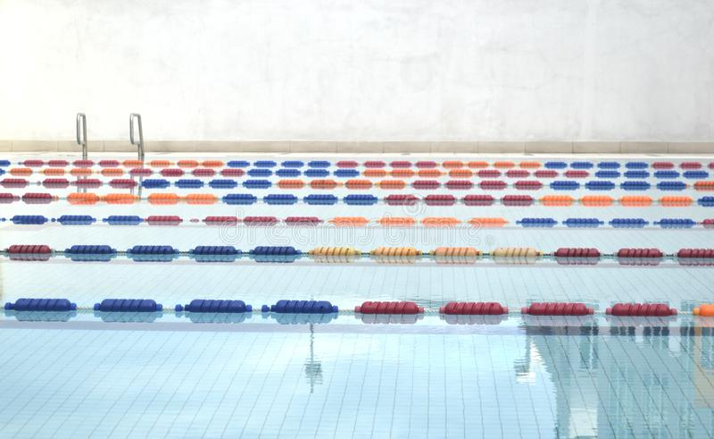 Download Swimming pool lanes stock photo. Image of stadium, athletic - 25623316