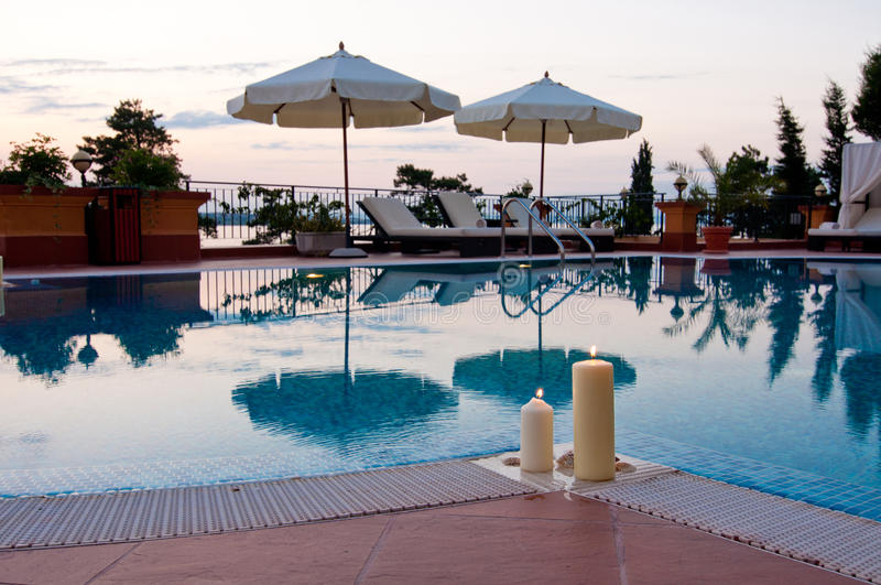 Download Swimming Pool Of Luxury Hotel Stock Image - Image: 27281197