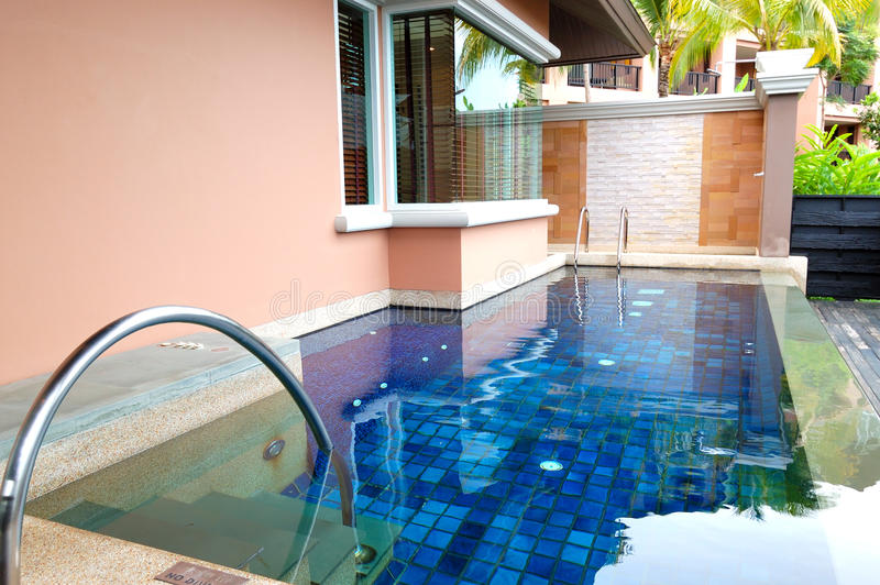 Download Swimming Pool At The Luxury Villa Stock Photo - Image: 23228318