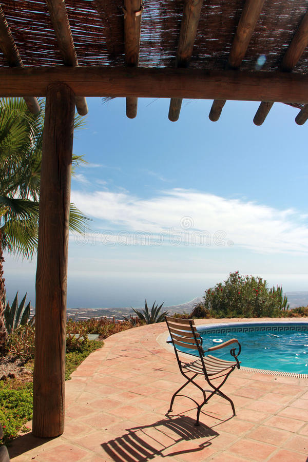 Download Swimming Pool And Nice Palm Stock Photo - Image: 26607974